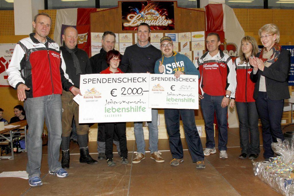 Spende 2012 an Lebenshilfe Seekirchen