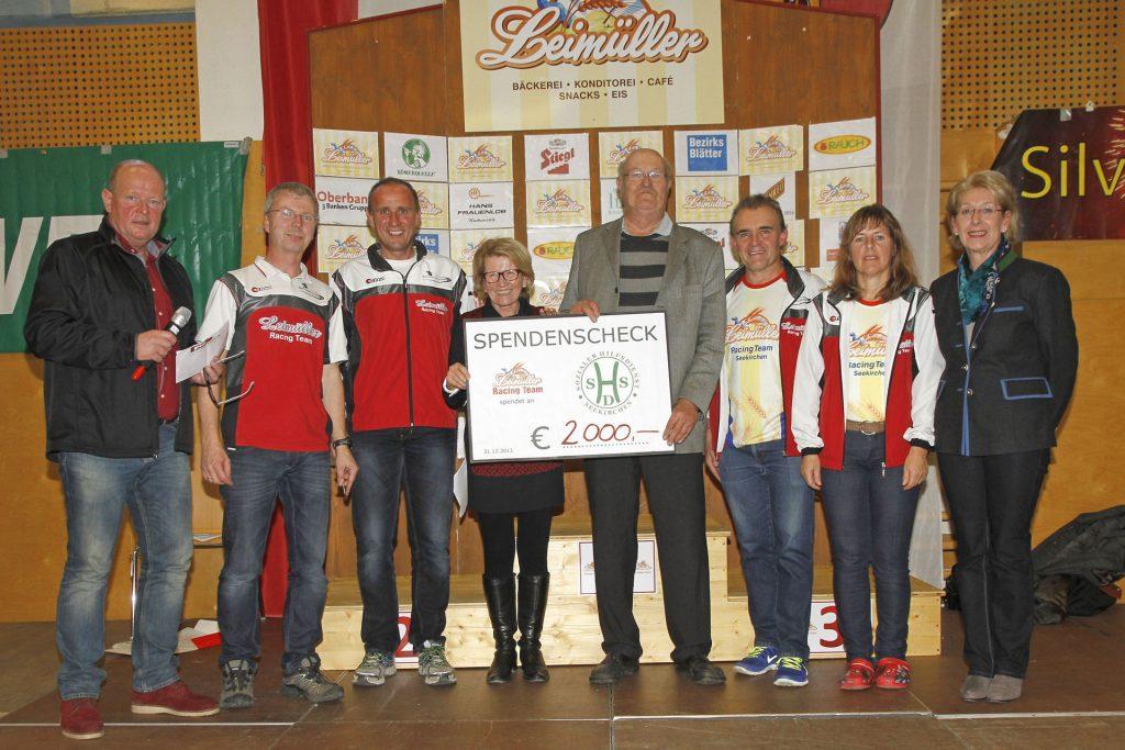 Spende 2013 an Sozialer Hilfsdienst Seekirchen