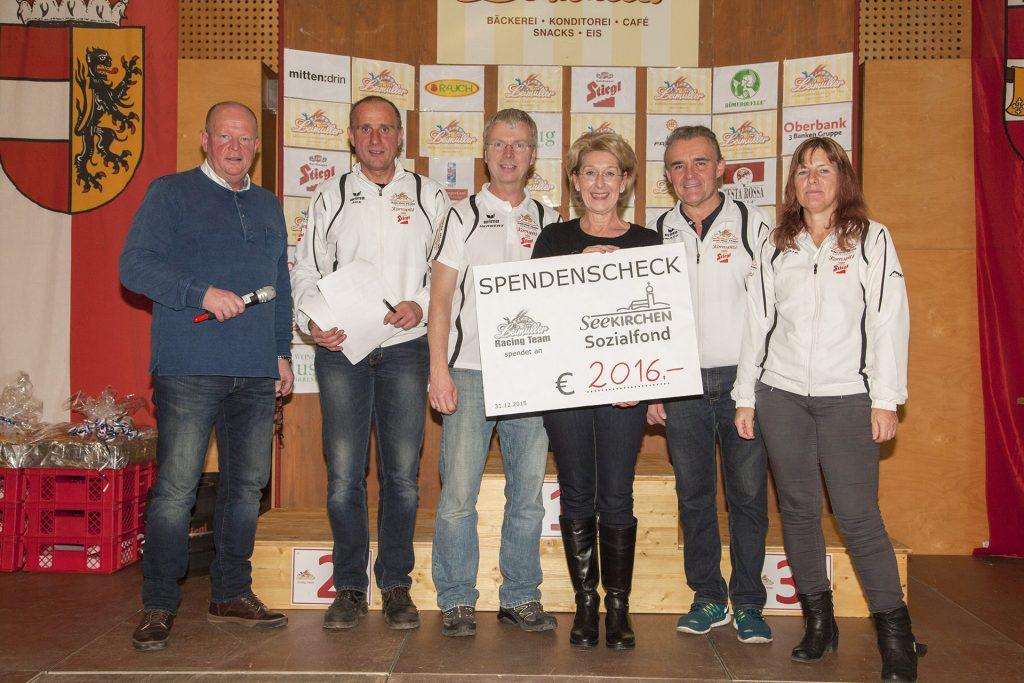 Spende 2015 an Seekirchner Sozialfond